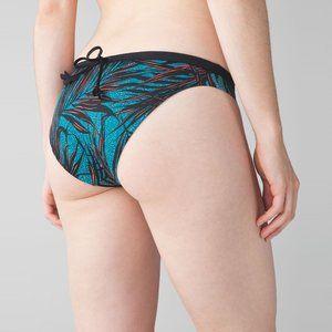 Lululemon Suns Out Bikini Bottom Palm Print Size 6